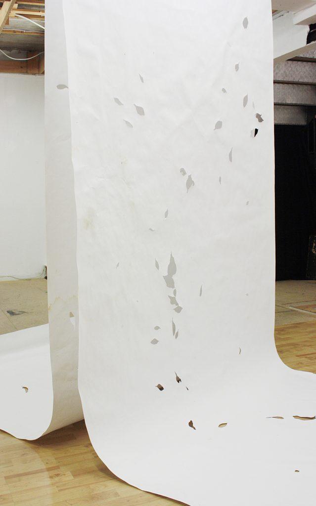 """Max Santo, """"eintags"""", verschiedene Materialien, 2017"""