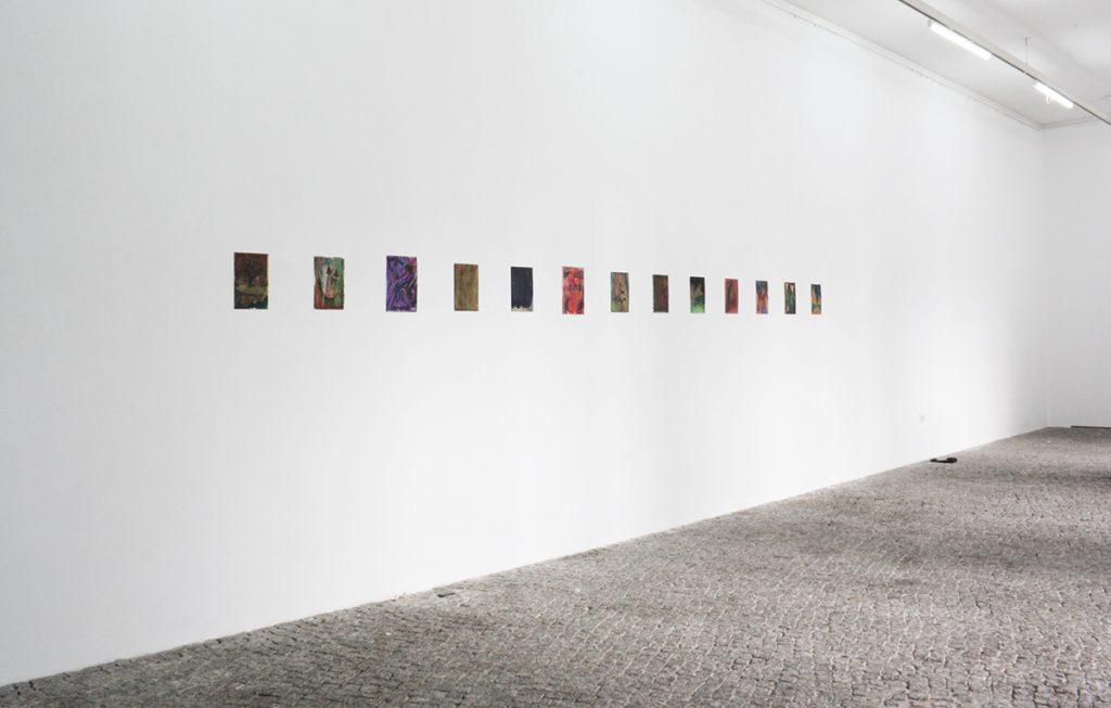 Max Santo, Ausstellungsansicht, Dream Model, gr_und, Berlin